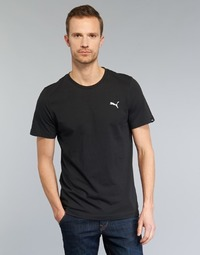 material Men short-sleeved t-shirts Puma ESS TEE Black
