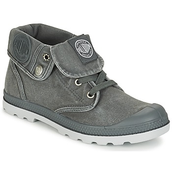 Shoes Women Mid boots Palladium BAGGY LOW LP F Grey