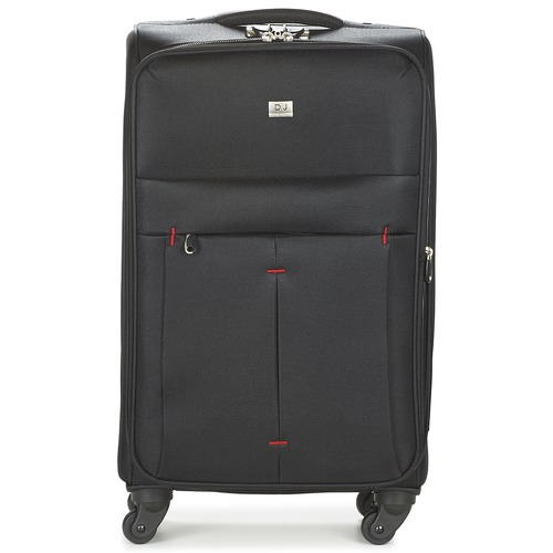 Bags Soft Suitcases David Jones JAVESKA 76L Black