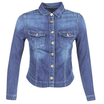 material Women Denim jackets Le Temps des Cerises LILLYM Blue / MEDIUM