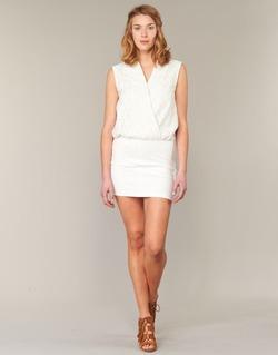 material Women Short Dresses Le Temps des Cerises SHERY White