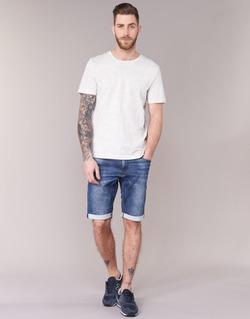 material Men Shorts / Bermudas Le Temps des Cerises JOGG SHORT Blue / MEDIUM