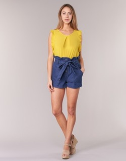 material Women Shorts / Bermudas Molly Bracken PORLA Blue