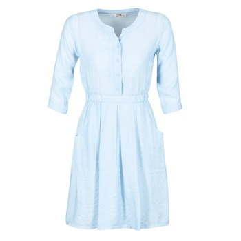 material Women Short Dresses Molly Bracken BLECH Blue