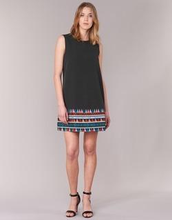 material Women Short Dresses Molly Bracken MESPT Black