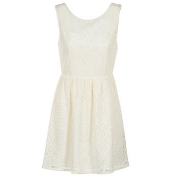 material Women Short Dresses Molly Bracken GORTY Ivory