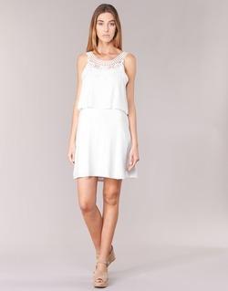 material Women Short Dresses Molly Bracken SAMARC Ivory