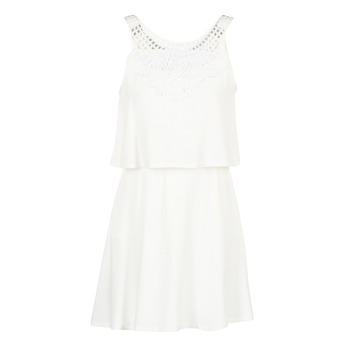 material Women Short Dresses Molly Bracken SAMARC Ivory