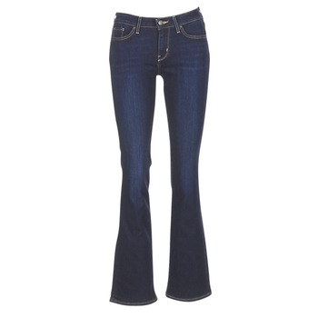 material Women bootcut jeans Levi's 715 BOOTCUT Blue