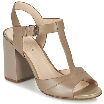 Shoes Women Sandals Café Noir GIMOTTI TAUPE