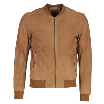 material Men Leather jackets / Imitation leather Selected MARK CAMEL
