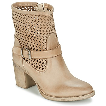 Shoes Women Mid boots Sweet Lemon EVATI TAUPE