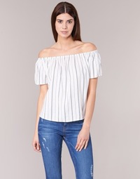 material Women Blouses Betty London GOYPILA Ecru