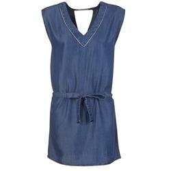 material Women Short Dresses Les P'tites Bombes GUELOFI Blue