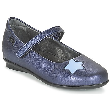 Shoes Girl Ballerinas Camper TWS Blue