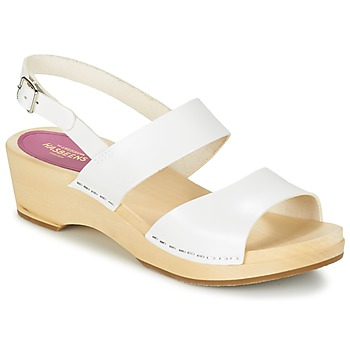 Shoes Women Sandals Swedish hasbeens HELENA White