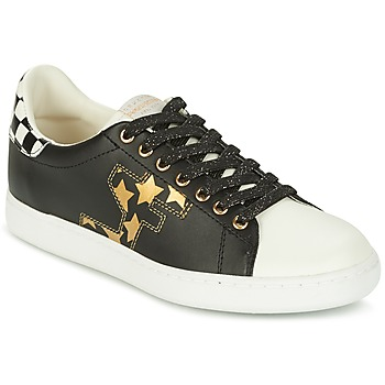 Shoes Women Low top trainers Serafini J.CONNORS Black