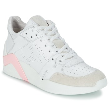 Shoes Women High top trainers Serafini CHICAGO White / Pink
