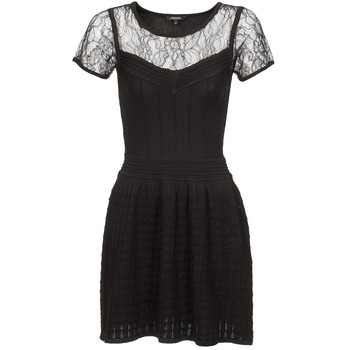 material Women Short Dresses Morgan RALY Black