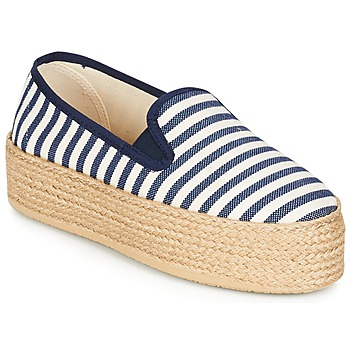 Shoes Women Espadrilles Betty London GROMY MARINE / White