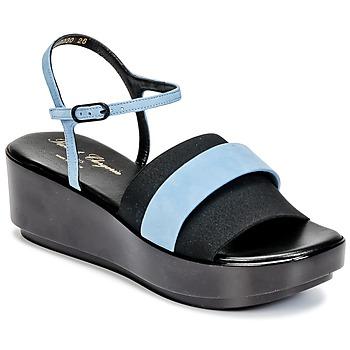 Shoes Women Sandals Robert Clergerie PODDY Black / Blue
