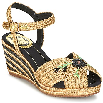 Shoes Women Sandals Miss L'Fire RENEE Gold