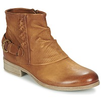 Shoes Women Mid boots Dream in Green GISCOTTO Brown / CAMEL