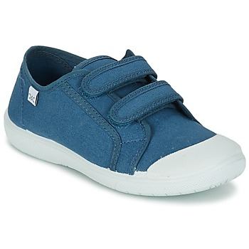 Shoes Girl Low top trainers Citrouille et Compagnie GLASSIA Blue