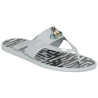 Shoes Men Flip flops Vivienne Westwood ORB ENAMELLED SDL Grey