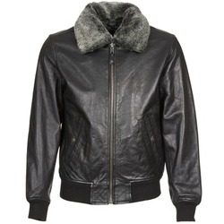 material Leather jackets / Imitation leather Schott FELIATO Black