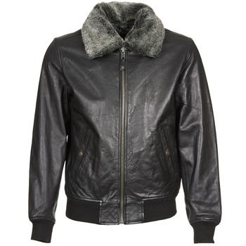 material Men Leather jackets / Imitation leather Schott FELIATO Black