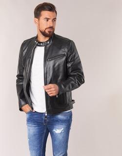 material Men Leather jackets / Imitation leather Schott LC 940 D Black