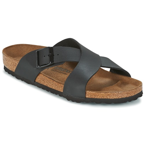 Shoes Men Mules Birkenstock TUNIS Black