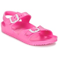 Shoes Children Sandals Birkenstock RIO EVA Pink / Fluorescent