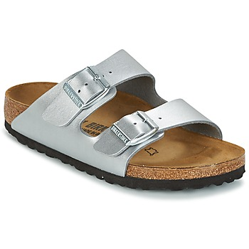 Shoes Children Mules Birkenstock ARIZONA Silver