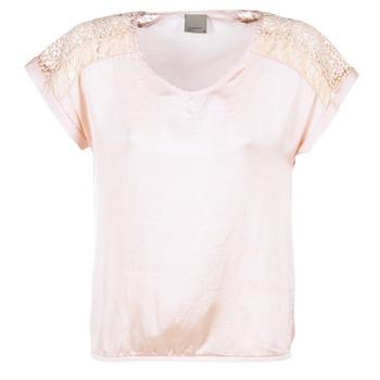 material Women Blouses Vero Moda SATINI Pink