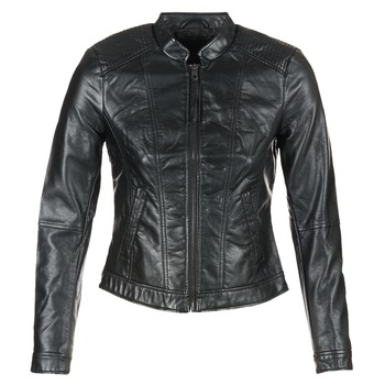 material Women Leather jackets / Imitation leather Vero Moda QUEEN Black