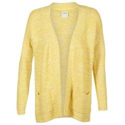 material Women Jackets / Cardigans Vero Moda GERDA Yellow
