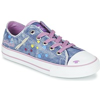 Shoes Girl Low top trainers Tom Tailor JIJAA Blue / Violet