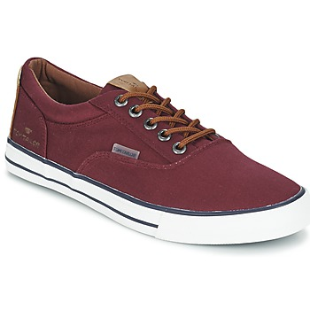 Shoes Men Low top trainers Tom Tailor EXIBOU Bordeaux