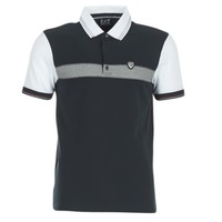 material Men short-sleeved polo shirts Emporio Armani EA7 TENNIS CLASSIC MARINE / White