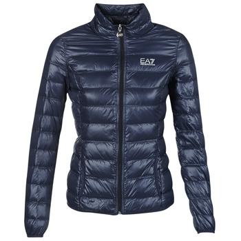 material Women Duffel coats Emporio Armani EA7 TRAIN CORE MARINE