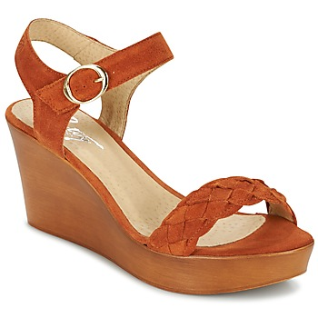 Shoes Women Sandals Betty London GIMI Rust