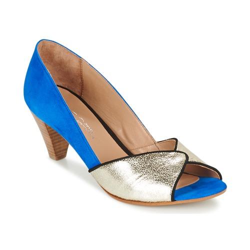 Shoes Women Court shoes Betty London GABYN Blue / Gold