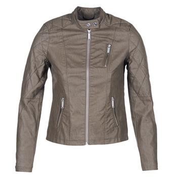 material Women Leather jackets / Imitation leather S.Oliver REZATO TAUPE
