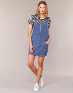 material Women Short Dresses Noisy May DEAN Blue / MEDIUM