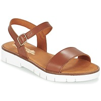 Shoes Girl Sandals Citrouille et Compagnie GAPOTI Camel