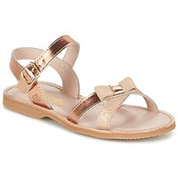 Shoes Girl Sandals Citrouille et Compagnie JISCOTTE Bronze