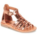 Shoes Girl Sandals Citrouille et Compagnie JASMA Coppery
