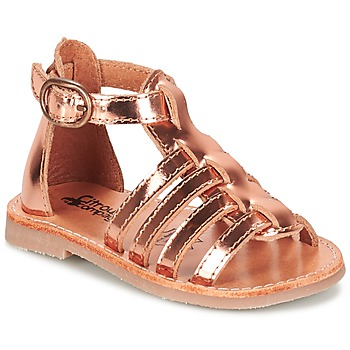 Shoes Girl Sandals Citrouille et Compagnie JASMA Coppery